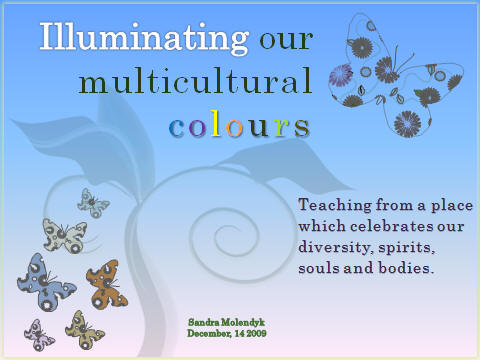 Illuminating our multicultural colours