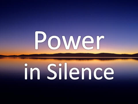 Power in Silence